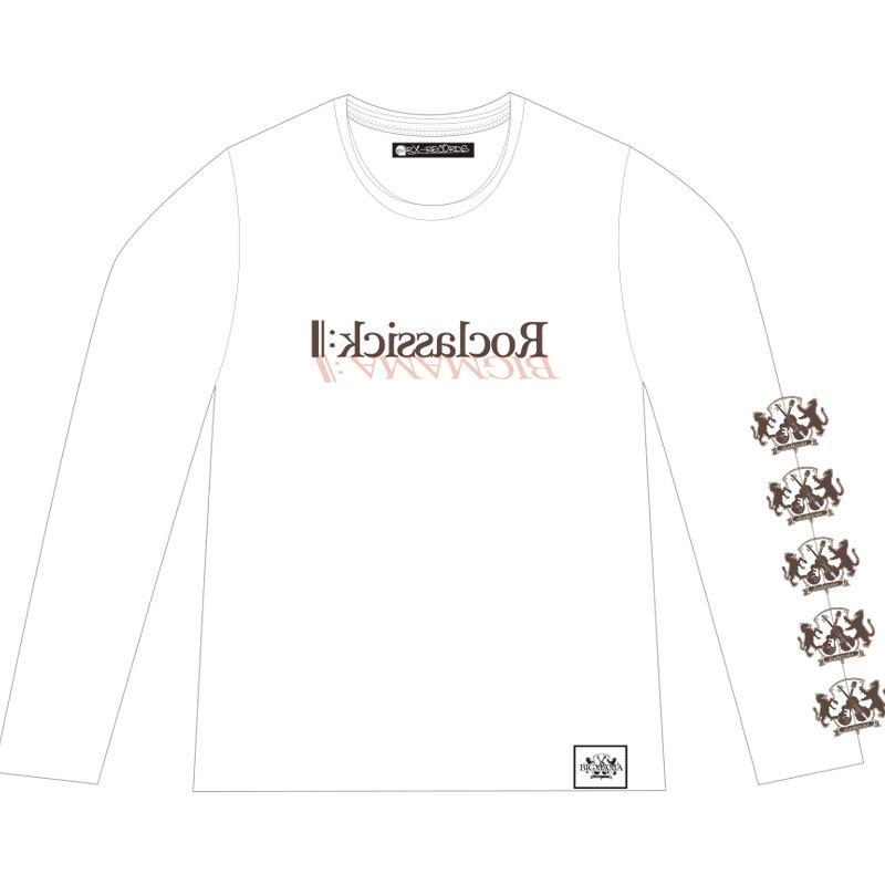 Roclassick Long-Tシャツ(白)
