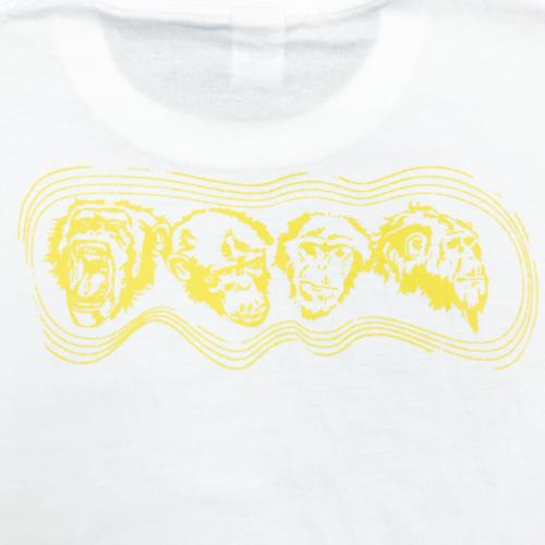 Multi Print S/S Tee(ホワイト)