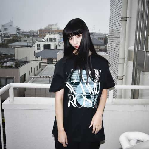 9th Anniv. SQUARE LOGO TEE(BLACK)