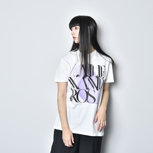 9th Anniv. SQUARE LOGO TEE(WHITE)