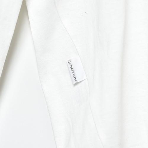 LONG SLEEVE TEE (WHITE)