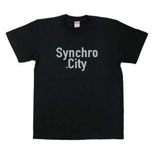 Synchro に CityツアーTシャツ(ブラック)