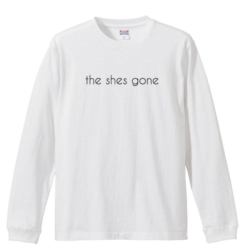 logo Long Sleeve shirt(ホワイト)