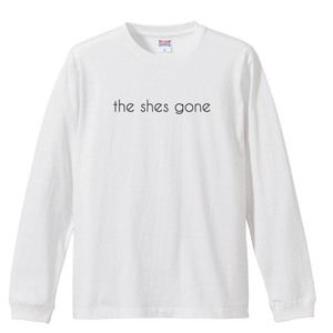 logo Long Sleeve shirt(ホワイト)