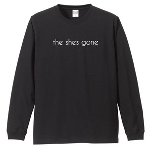 logo Long Sleeve shirt(ブラック)