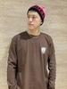 MONSTER Long Sleeve T-Shirt (BROWN)
