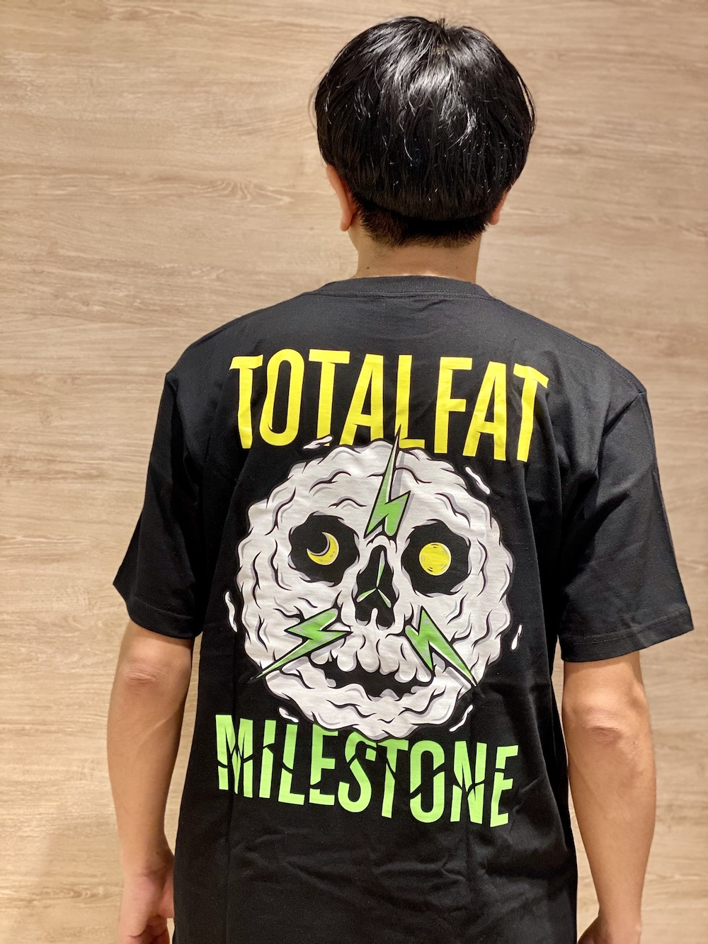 MILESTONE JACKET T-Shirt (BLACK)