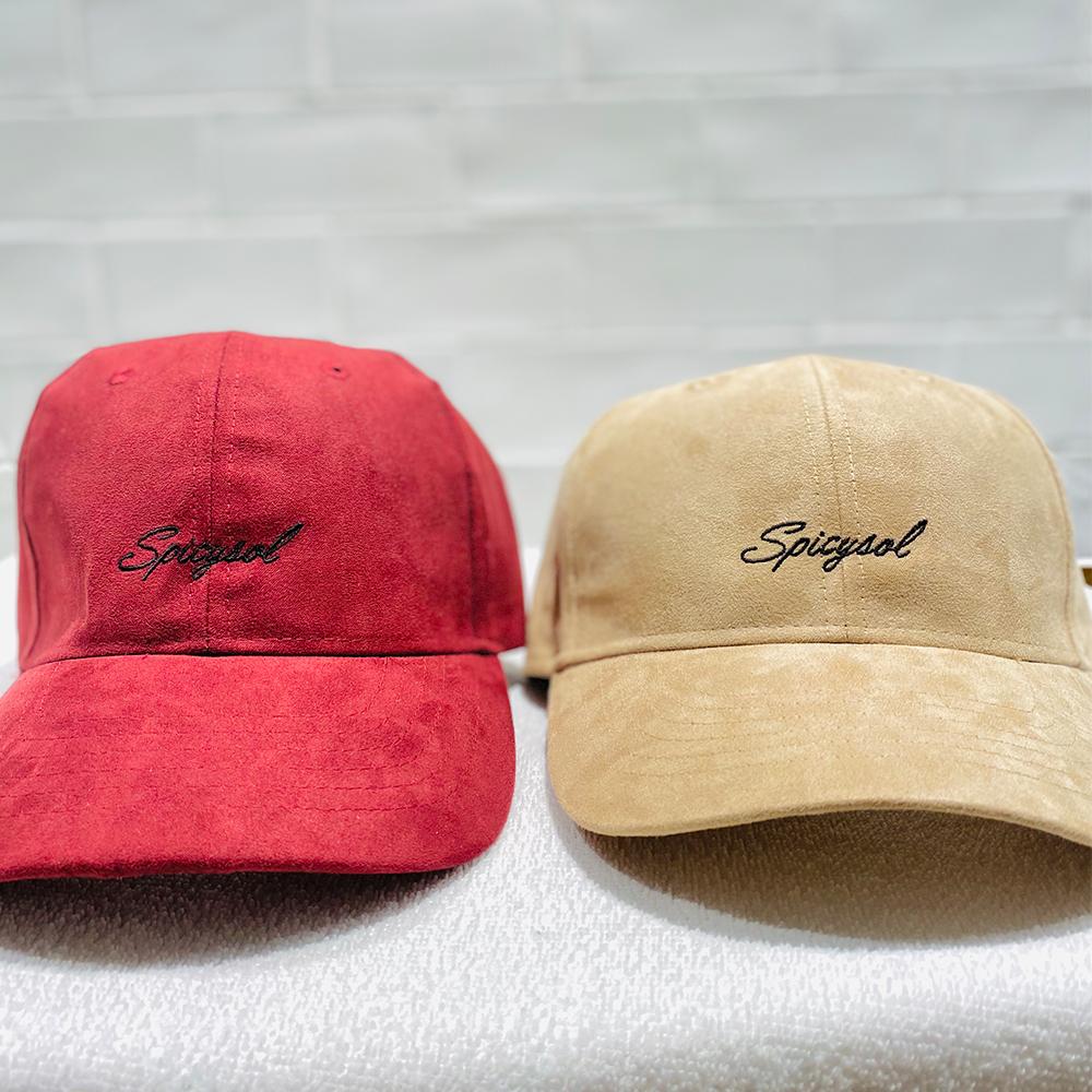 Logo Suede Cap