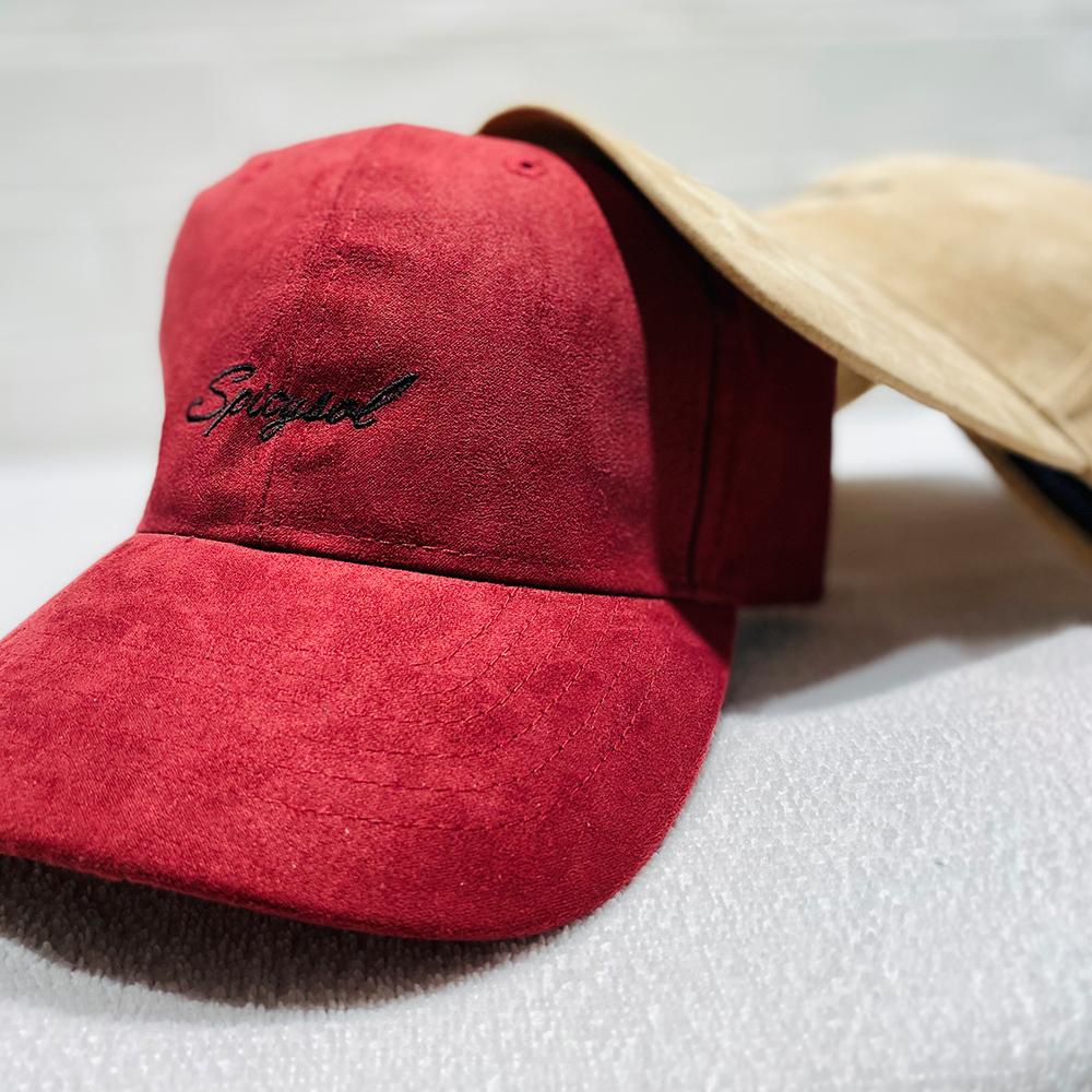 「Logo Suede Cap」 (全3色)