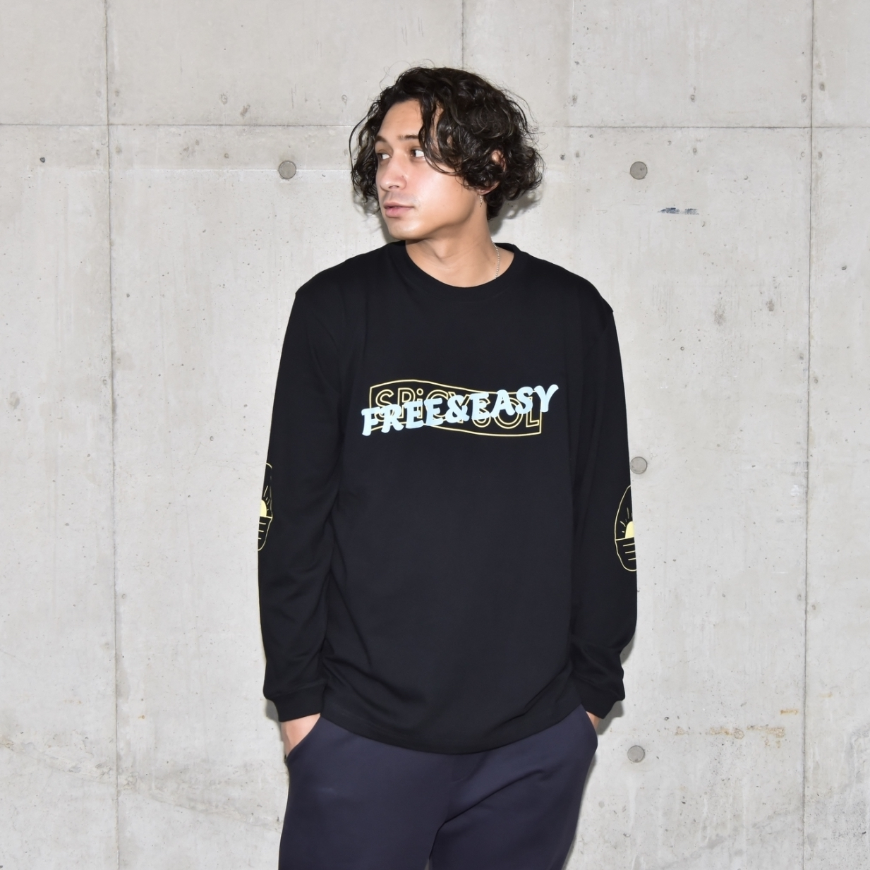 FREE&EASY Long Sleeve Tee