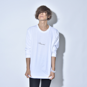FLASHBACK LONG SLEEVE TEE (WHITE)