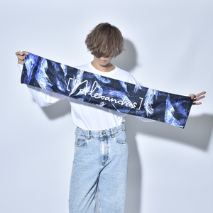 【 MORE SALE 】MUFFLER TOWEL(BLUE/RED)