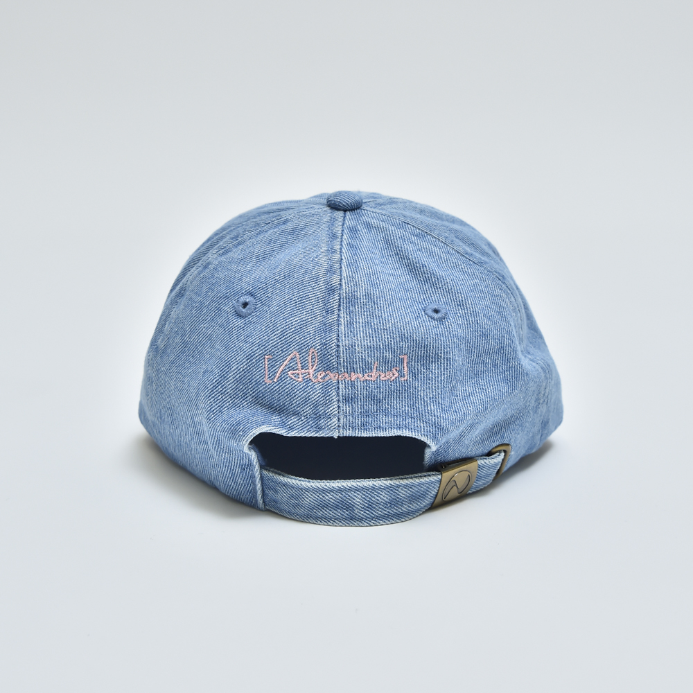 DENIM CAP (LIGHT BLACK/LIGHT BLUE)