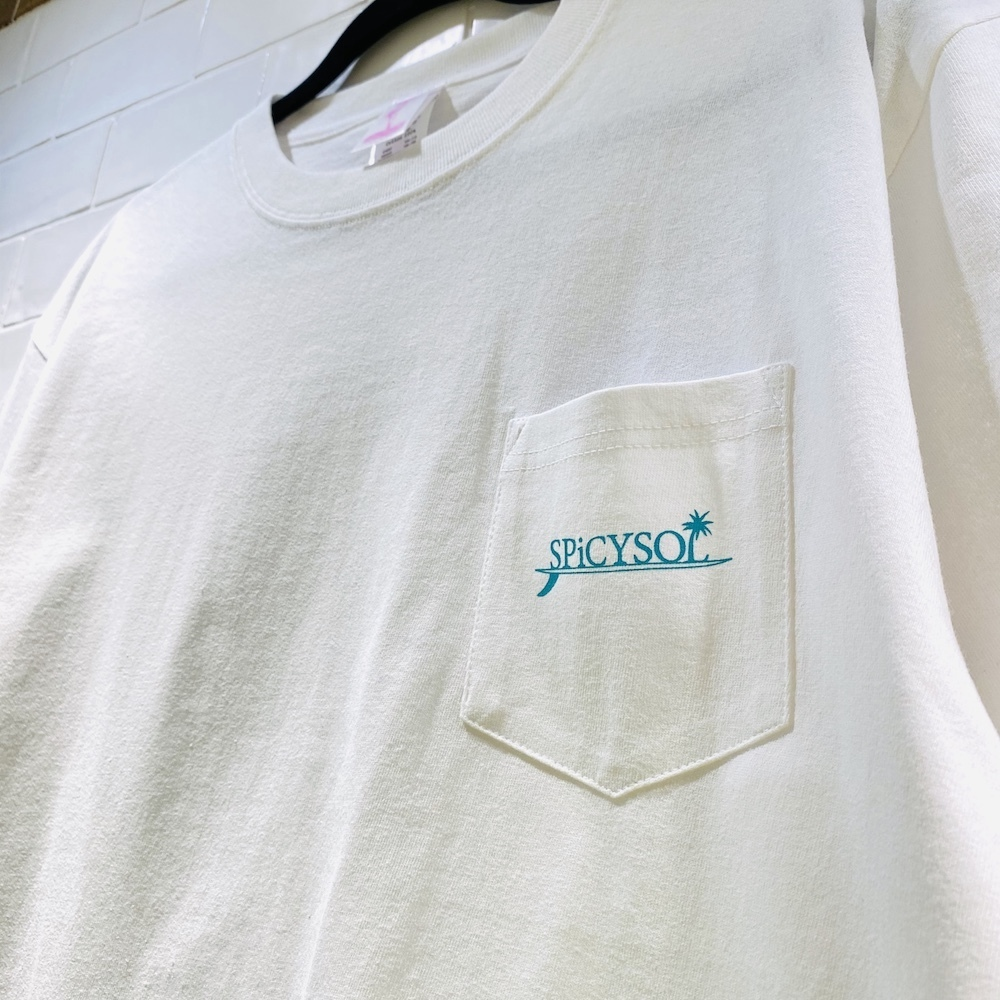 「Ride on pocket Tee」