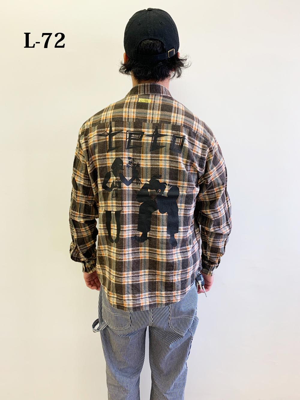 Flannel Shirts【L SIZE】