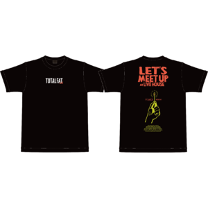 【 受注生産 】待ち合わせはライブハウスでTシャツ(ブラック)