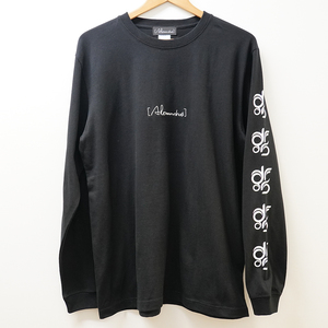 DROS LOGO LONG SLEEVE TEE  (BLACK)