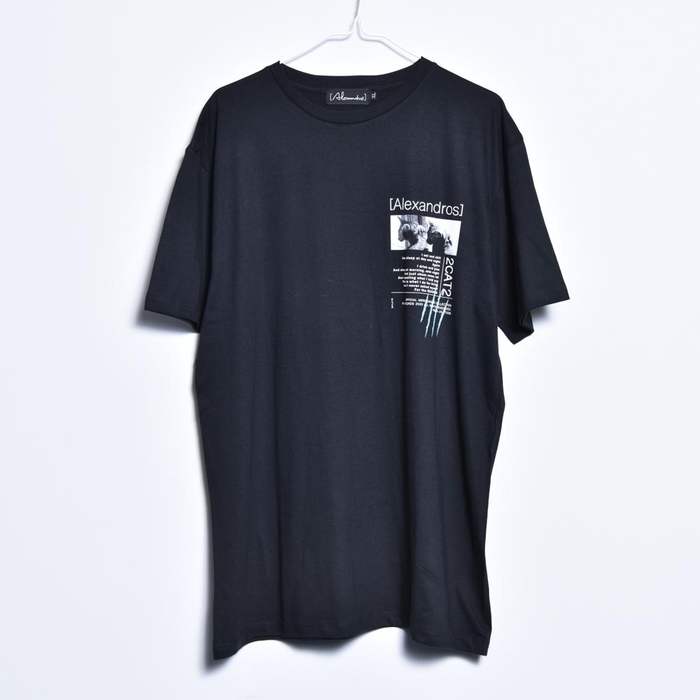 2CAT2 TEE (BLACK)
