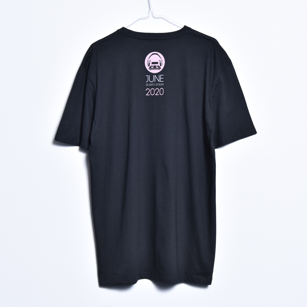 BED ROOM TEE (BLACK)