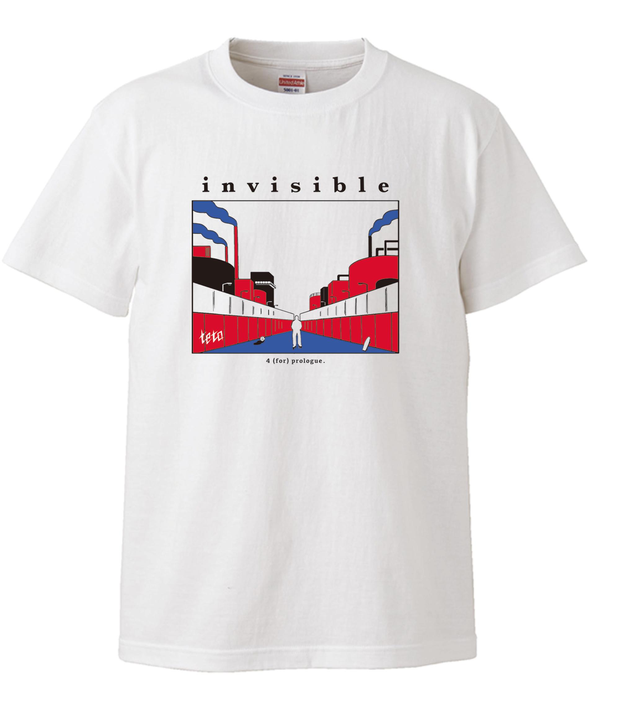 【受注販売】invisible Tee(ホワイト / A)