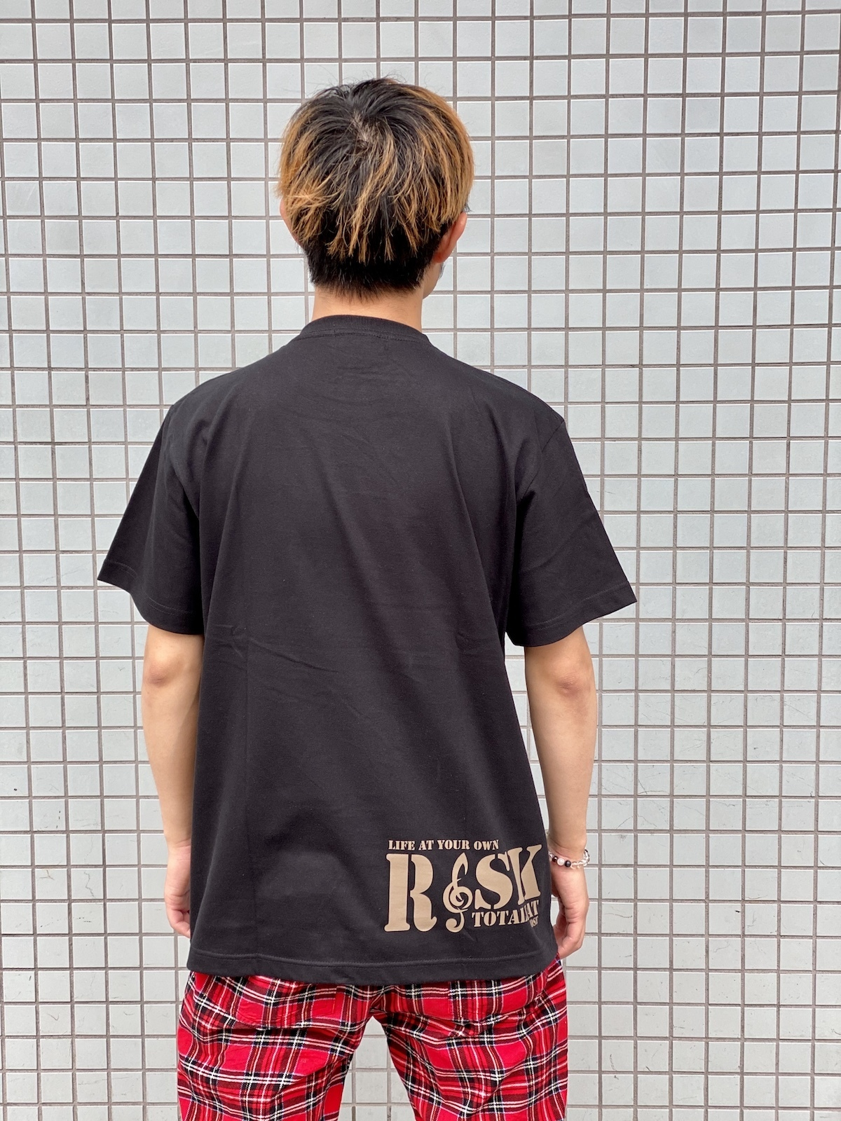 """【 受注生産 】Jose生誕記念Tシャツ"""" ホセティー2020 RISK × Joseスペシャルコラボ""""(ブラック)"""