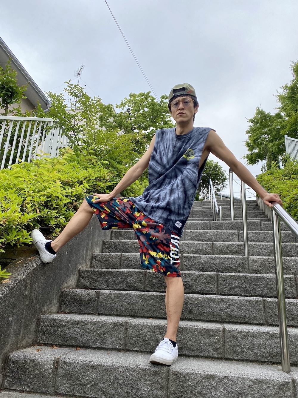 【受注生産】TOTALFAT MOSH PANTS II(Camo)