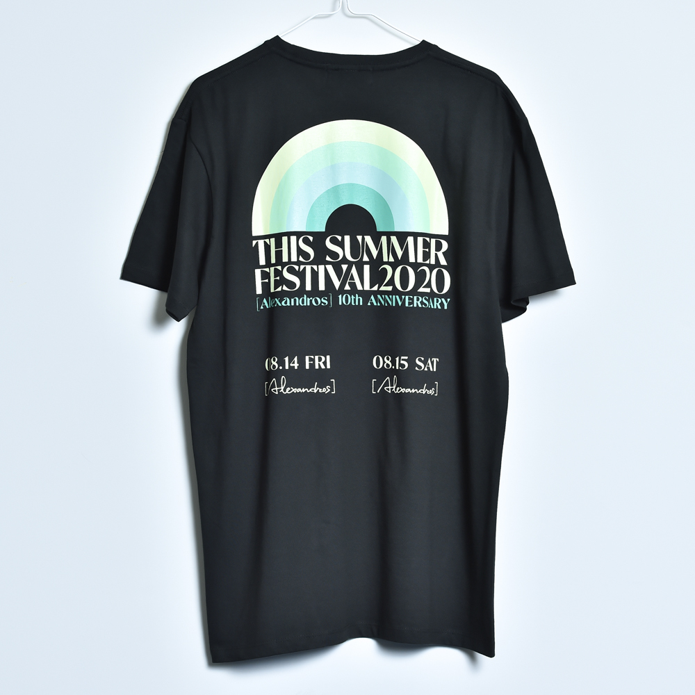 THIS SUMMER FESTIVAL 2020 TEE (BLACK)