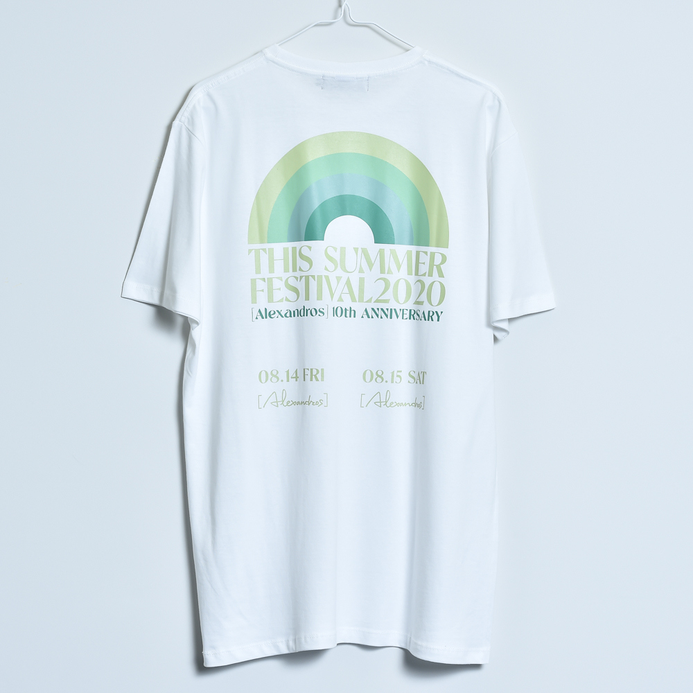 THIS SUMMER FESTIVAL 2020 TEE (WHITE)