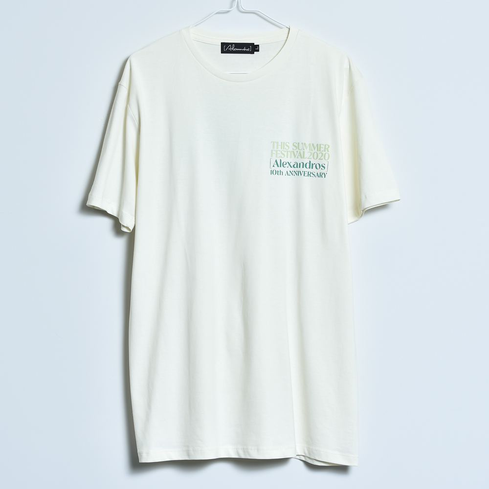 THIS SUMMER FESTIVAL 2020 TEE (NATURAL)