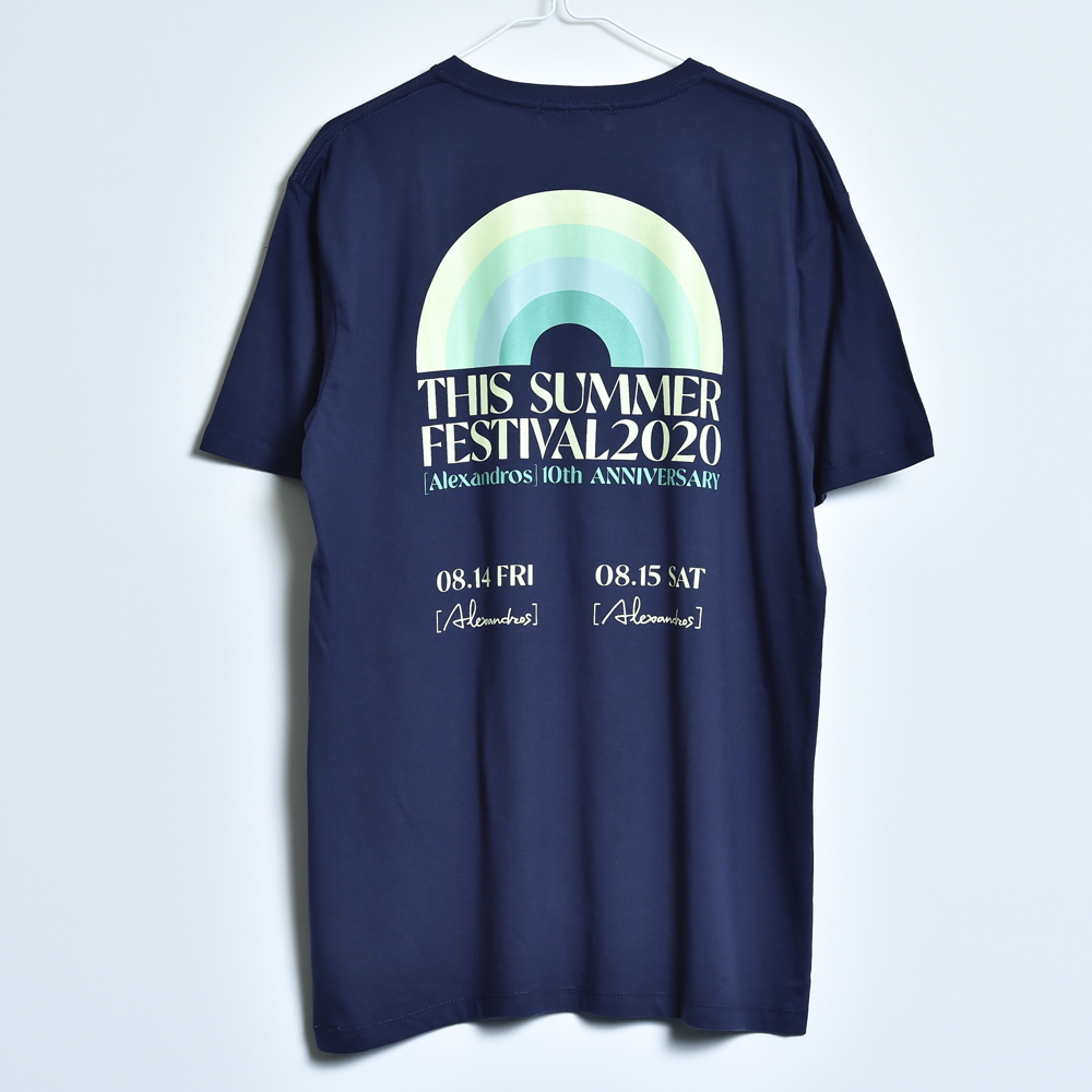 THIS SUMMER FESTIVAL 2020 TEE (NAVY)