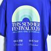 THIS SUMMER FESTIVAL 2020 TEE (ROYAL BLUE)