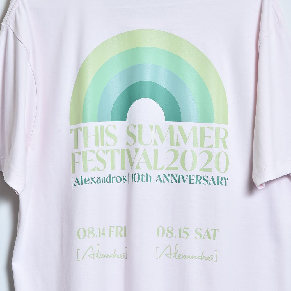 THIS SUMMER FESTIVAL 2020 TEE (LIGHT PINK)