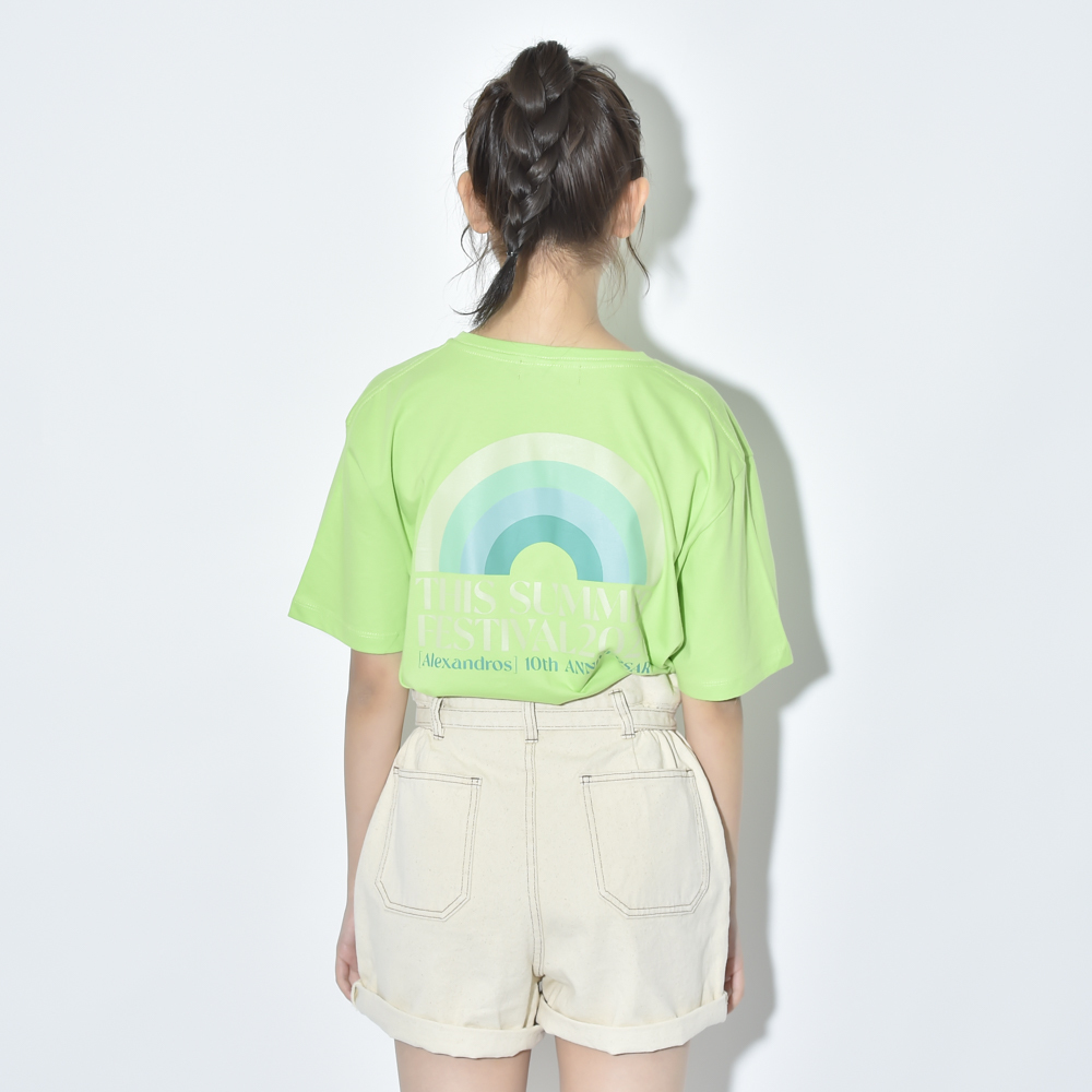 THIS SUMMER FESTIVAL 2020 TEE (LIME)