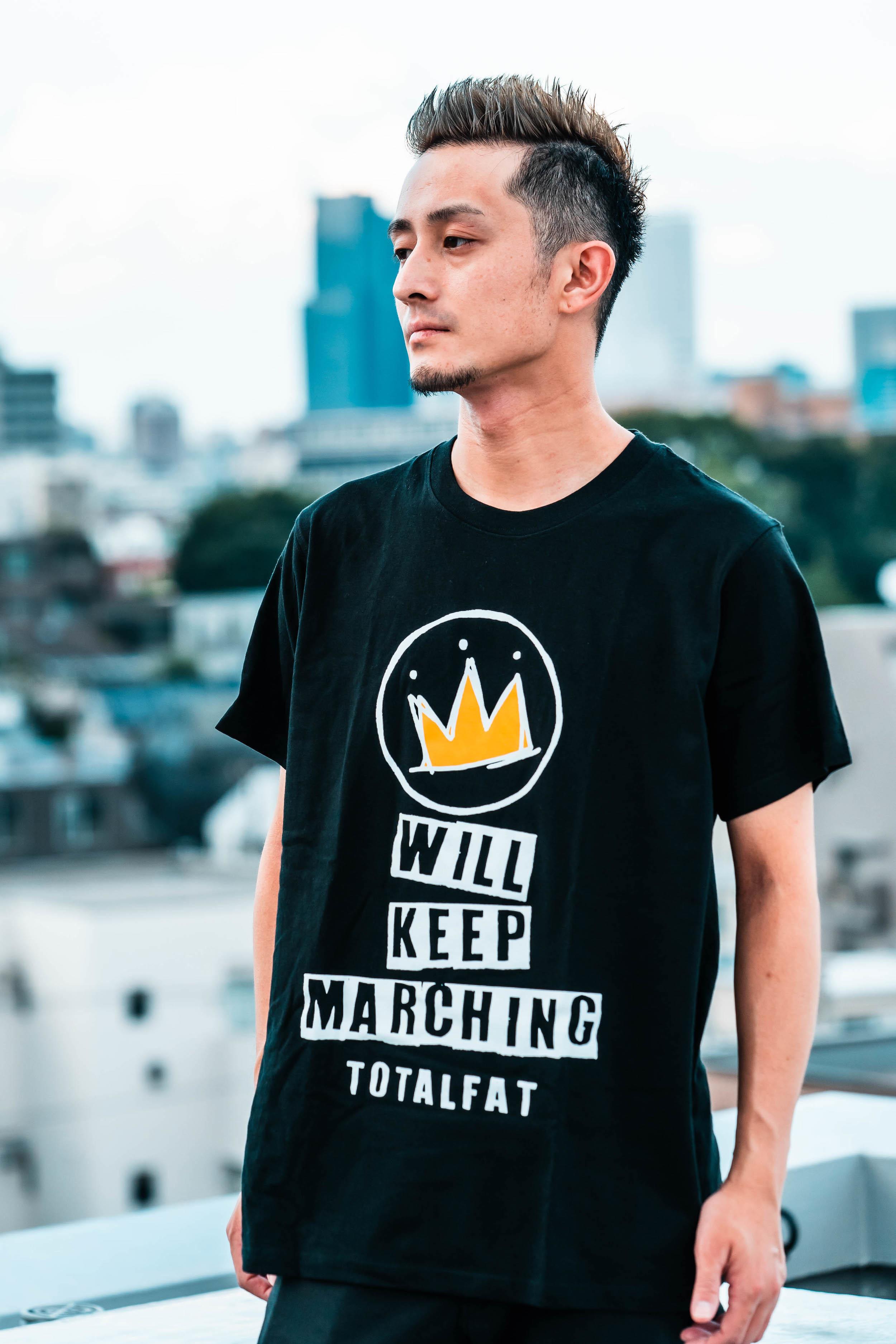 【 受注生産 】 NEW EP「WILL KEEP MARCHING」