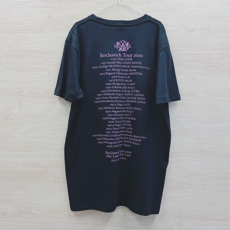 Roclassickツアー2020 母の日限定Tシャツ