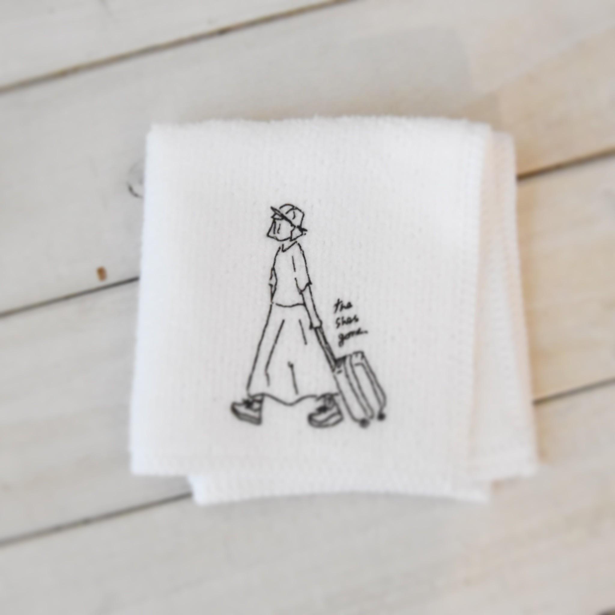 mini towel(ホワイト)