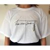 flower logo Tシャツ(ホワイト)