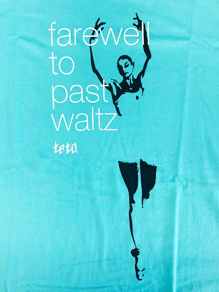 【受注販売】farewell to past waltz Tee(ミントグリーン)