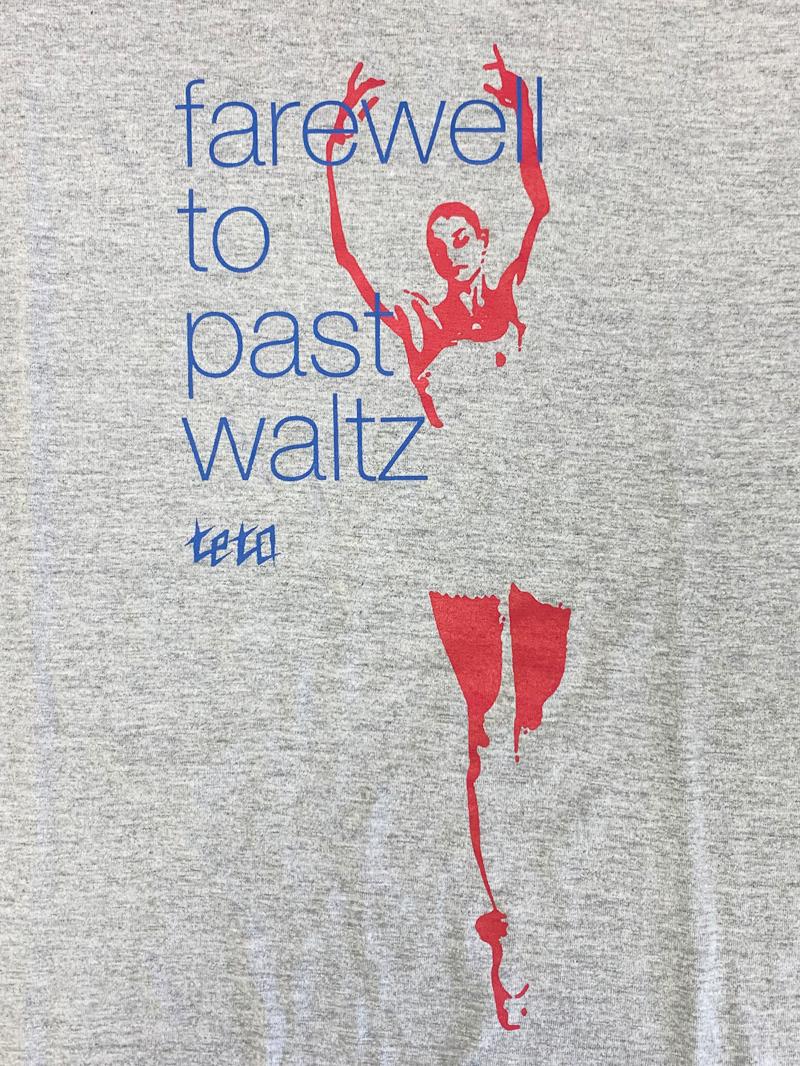 【受注販売】farewell to past waltz Tee(ミックスグレー)