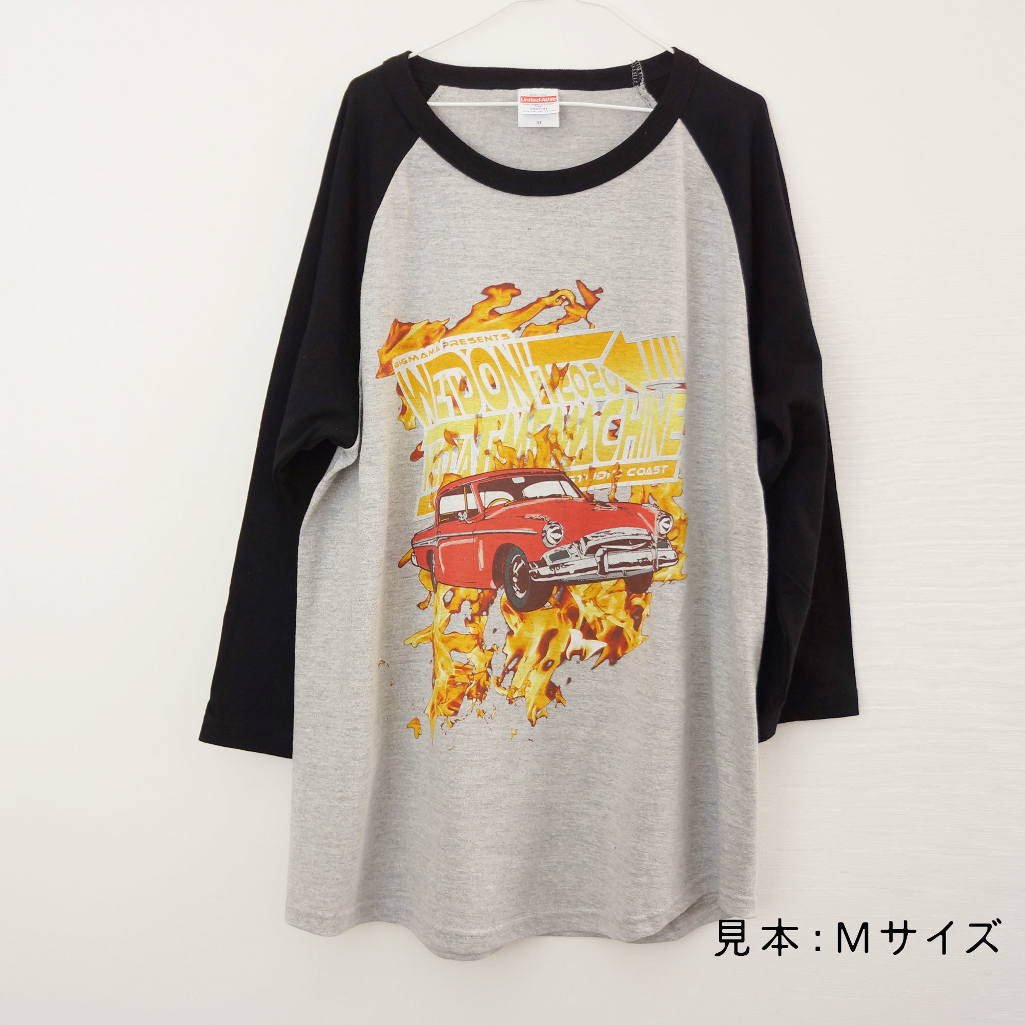 We Don't Need a Time Machine Tシャツ(ラグラン)