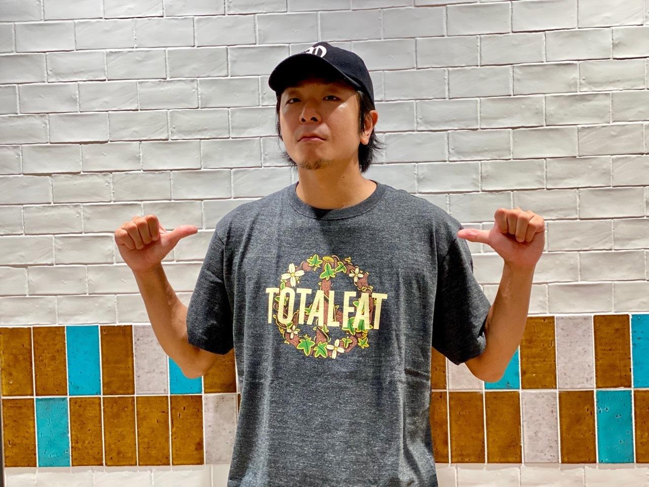 Flower ロゴ Tシャツ (ヘザーブラック)