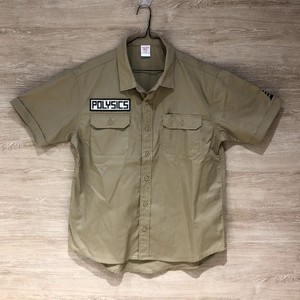 【受注生産】バイザーコーンワークシャツ (モカベージュ)