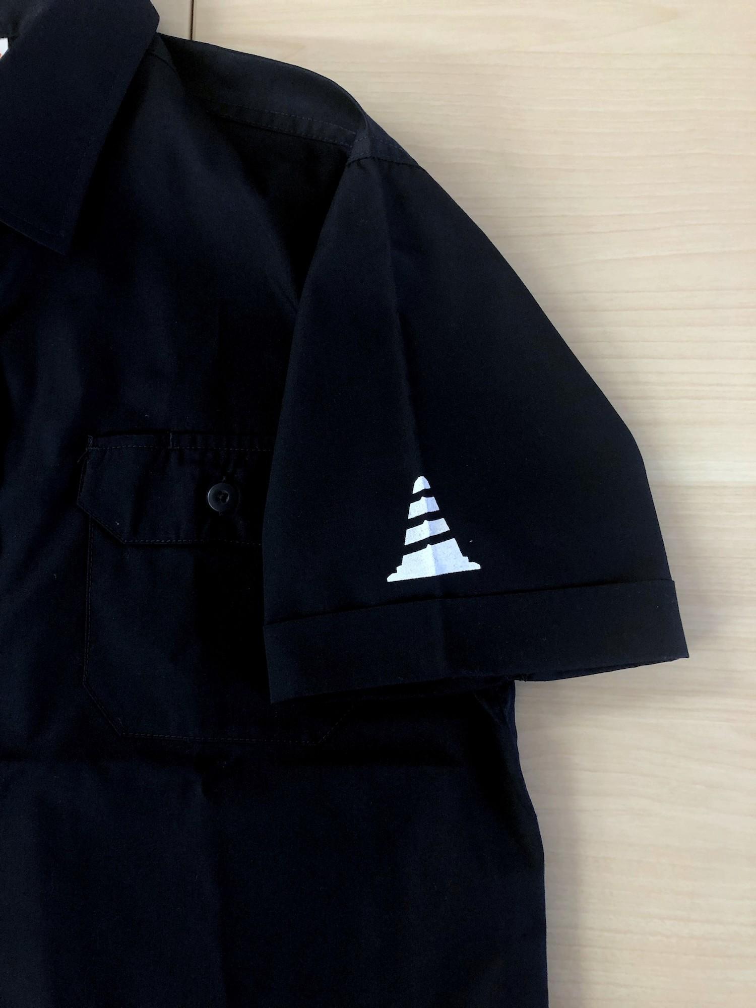 【受注生産】バイザーコーンワークシャツ (ダークネイビー )