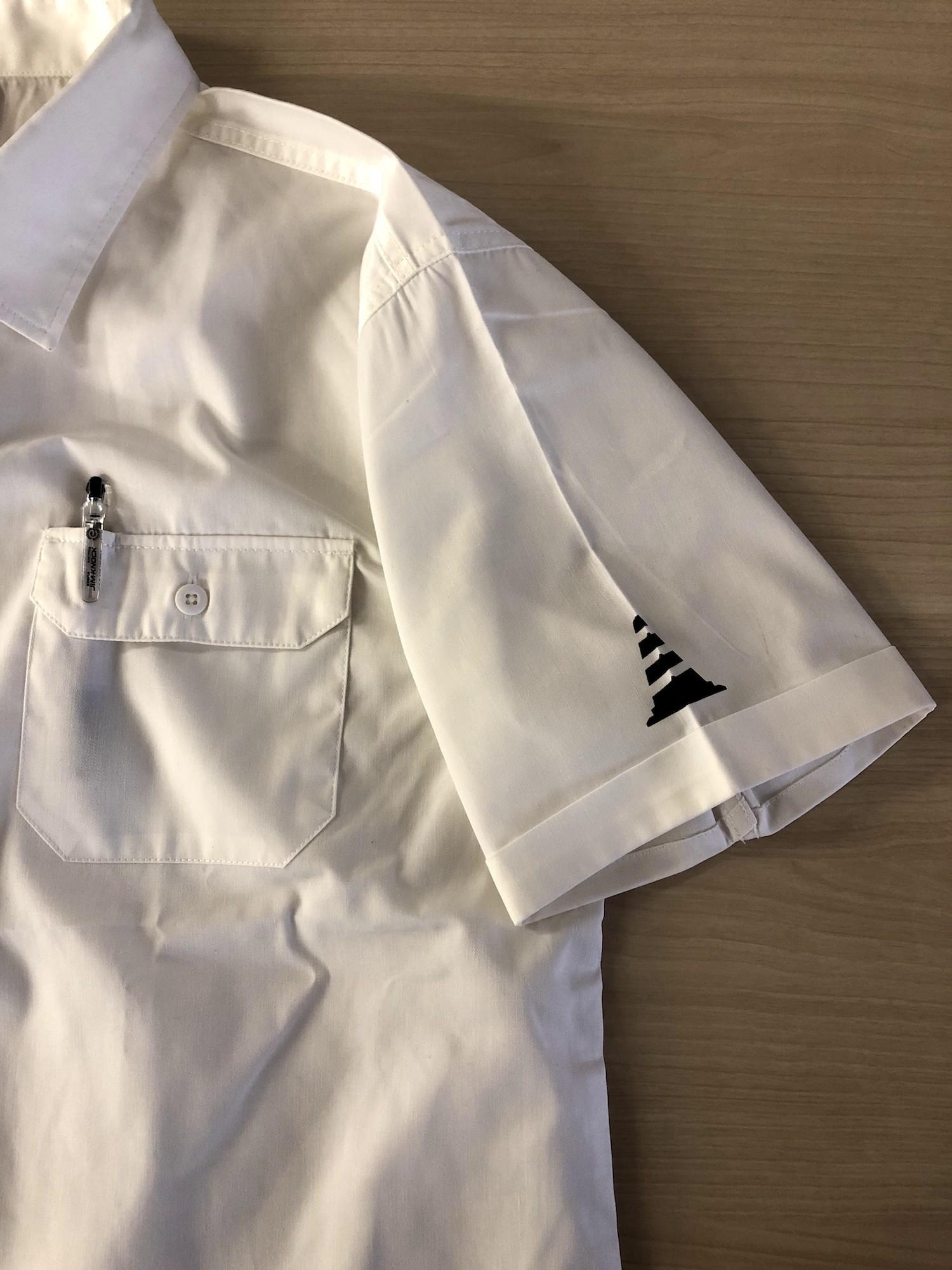 【受注生産】バイザーコーンワークシャツ (オフホワイト)