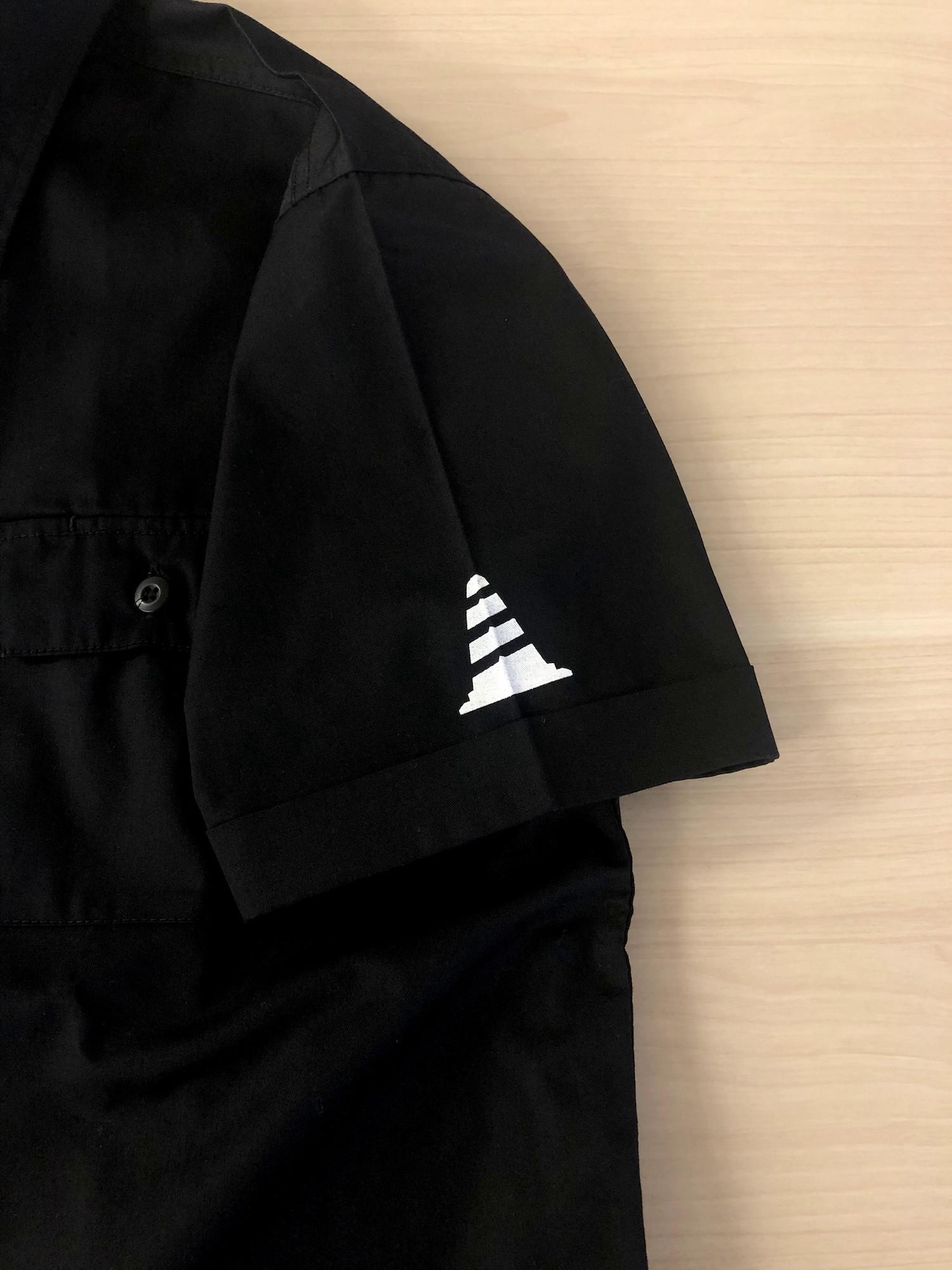 【受注生産】バイザーコーンワークシャツ (ブラック)