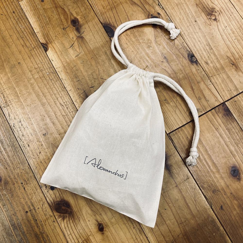 RUBBER BAND drawstring bag