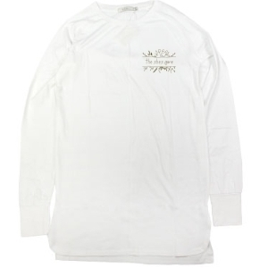 FACE long sleeve T-shirts (ホワイト)