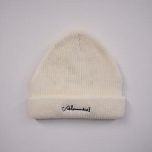 knit cap(オフホワイト)