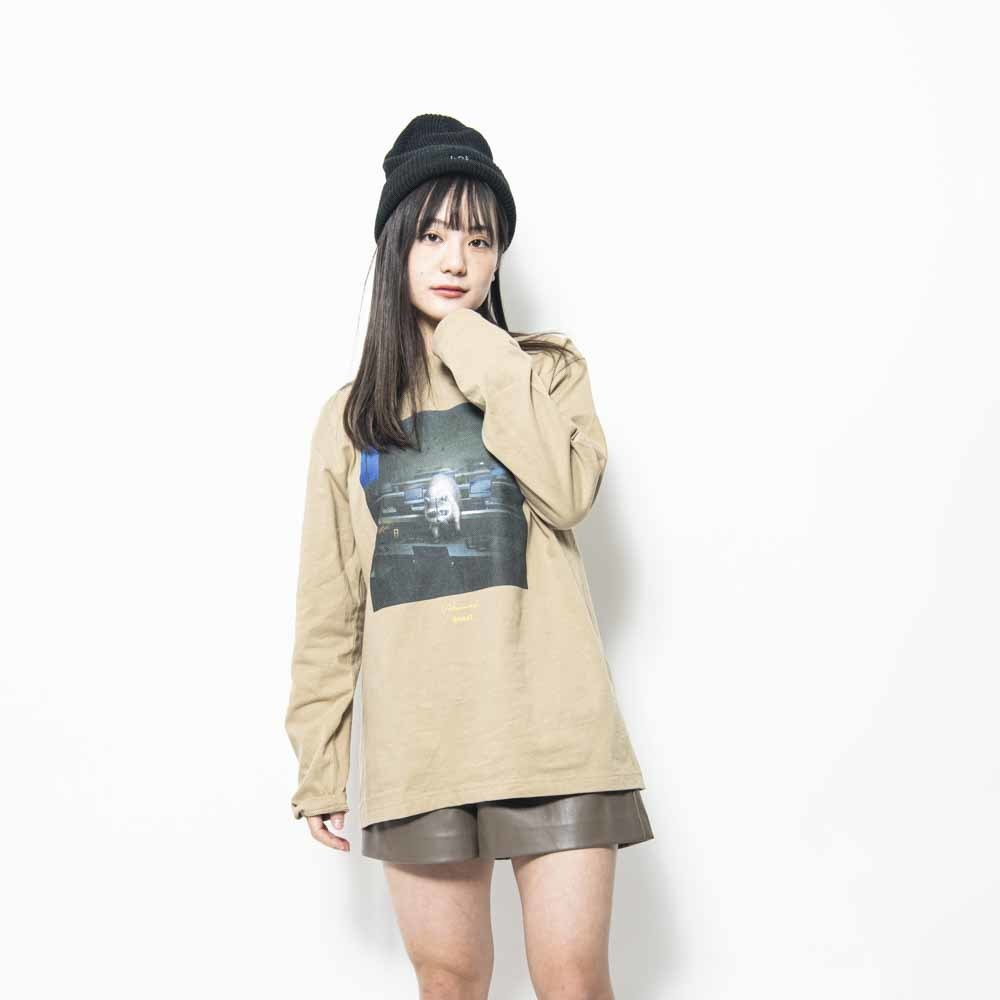BEAST Jacket Long Sleeve Tee (sand_khaki)