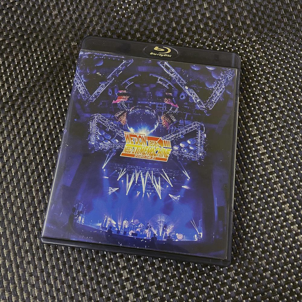 Blu-ray「WeDon'tNeedaTimeMachine2020」